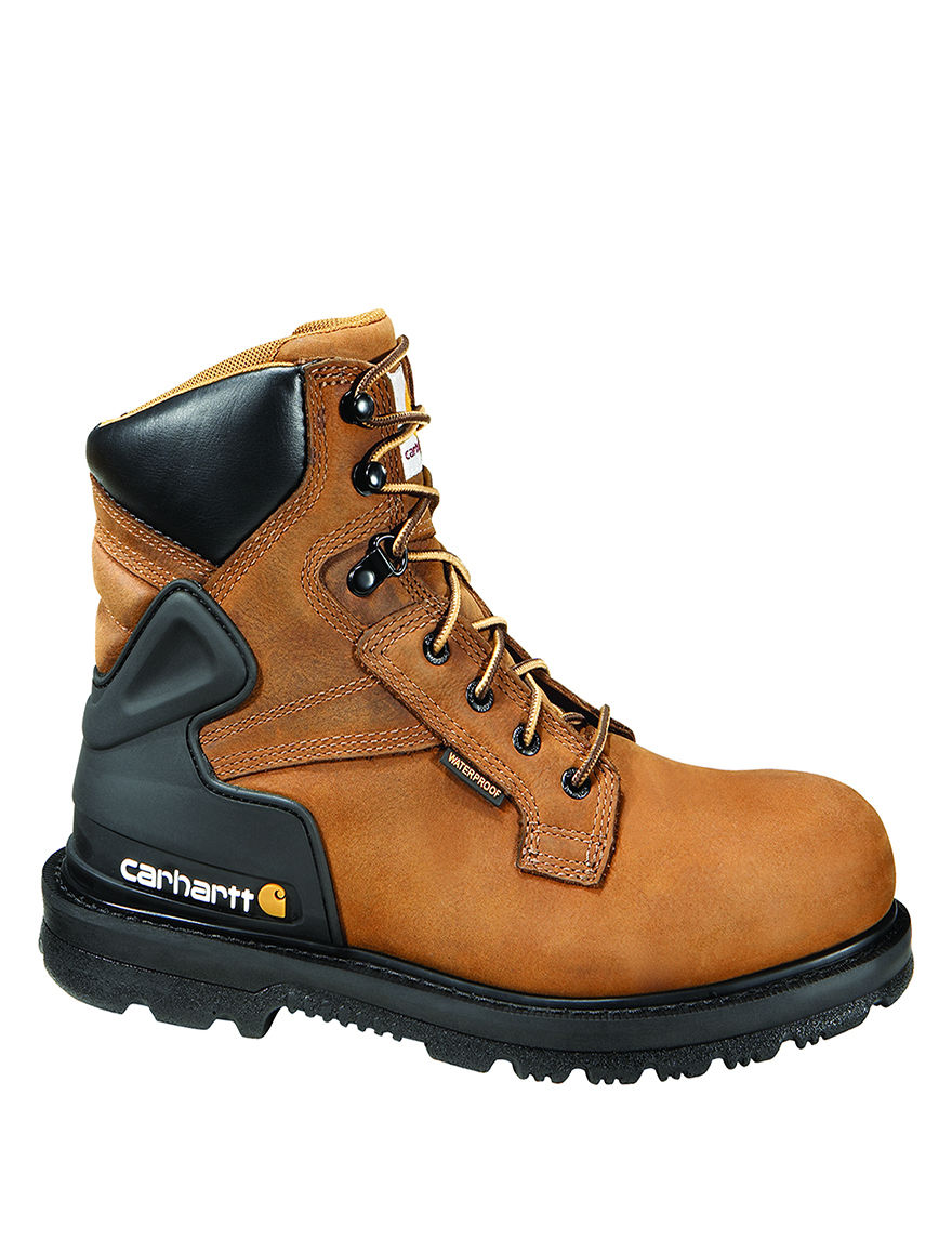 Carhartt Brown Slip Resistant Steel Toe Waterproof