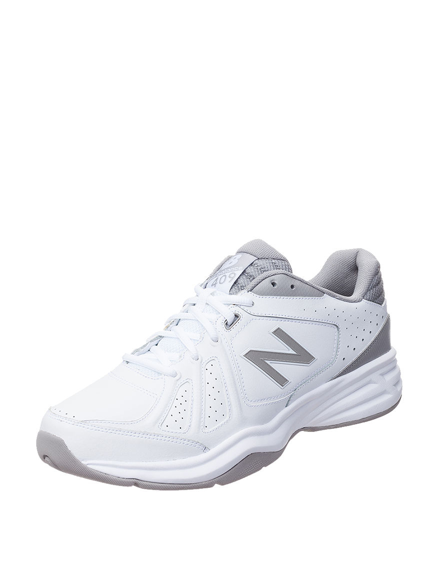 New Balance White / Grey
