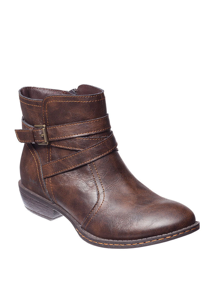 B.O.C. Coffee Ankle Boots & Booties