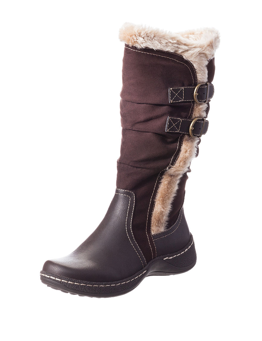 Wear. Ever. Brown Winter Boots
