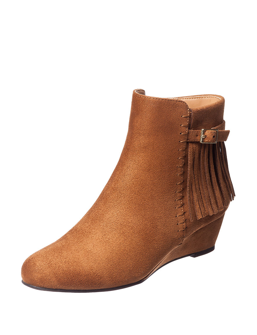 IMPO Cashew Ankle Boots & Booties Wedge Boots