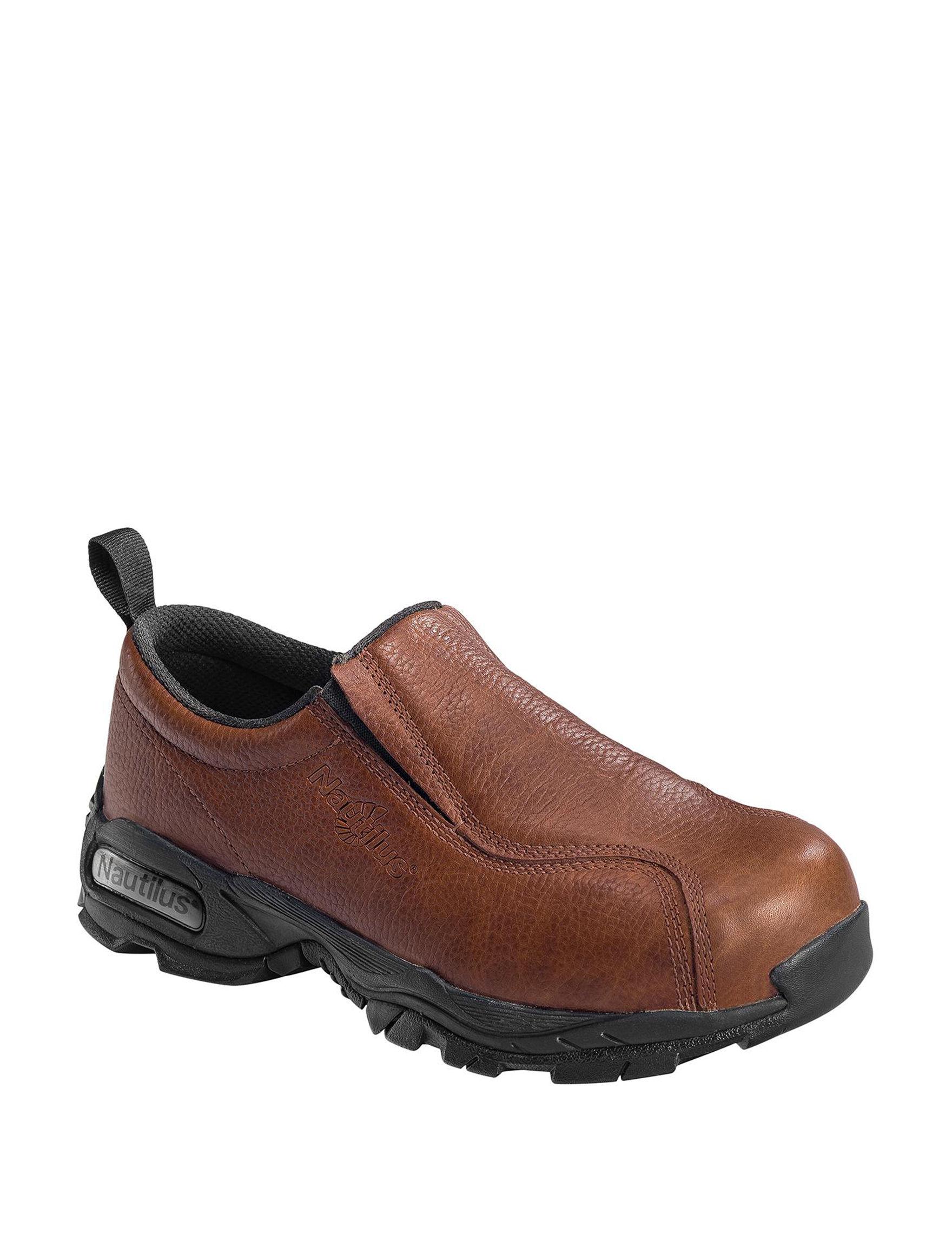 Nautilus Brown Slip Resistant