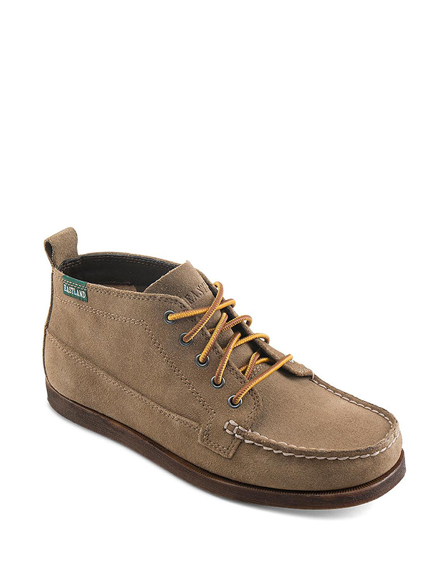 Eastland Beige Ankle Boots & Booties