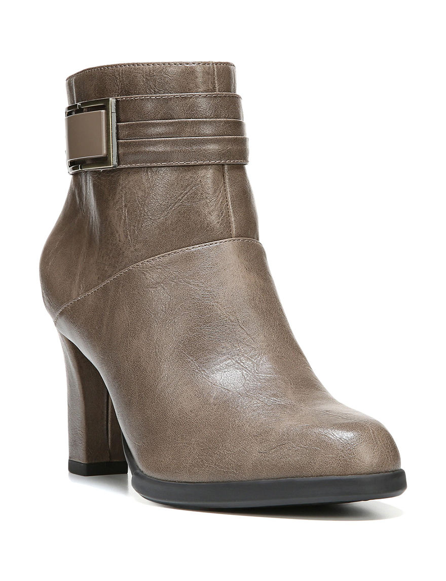 Lifestride Taupe Ankle Boots & Booties