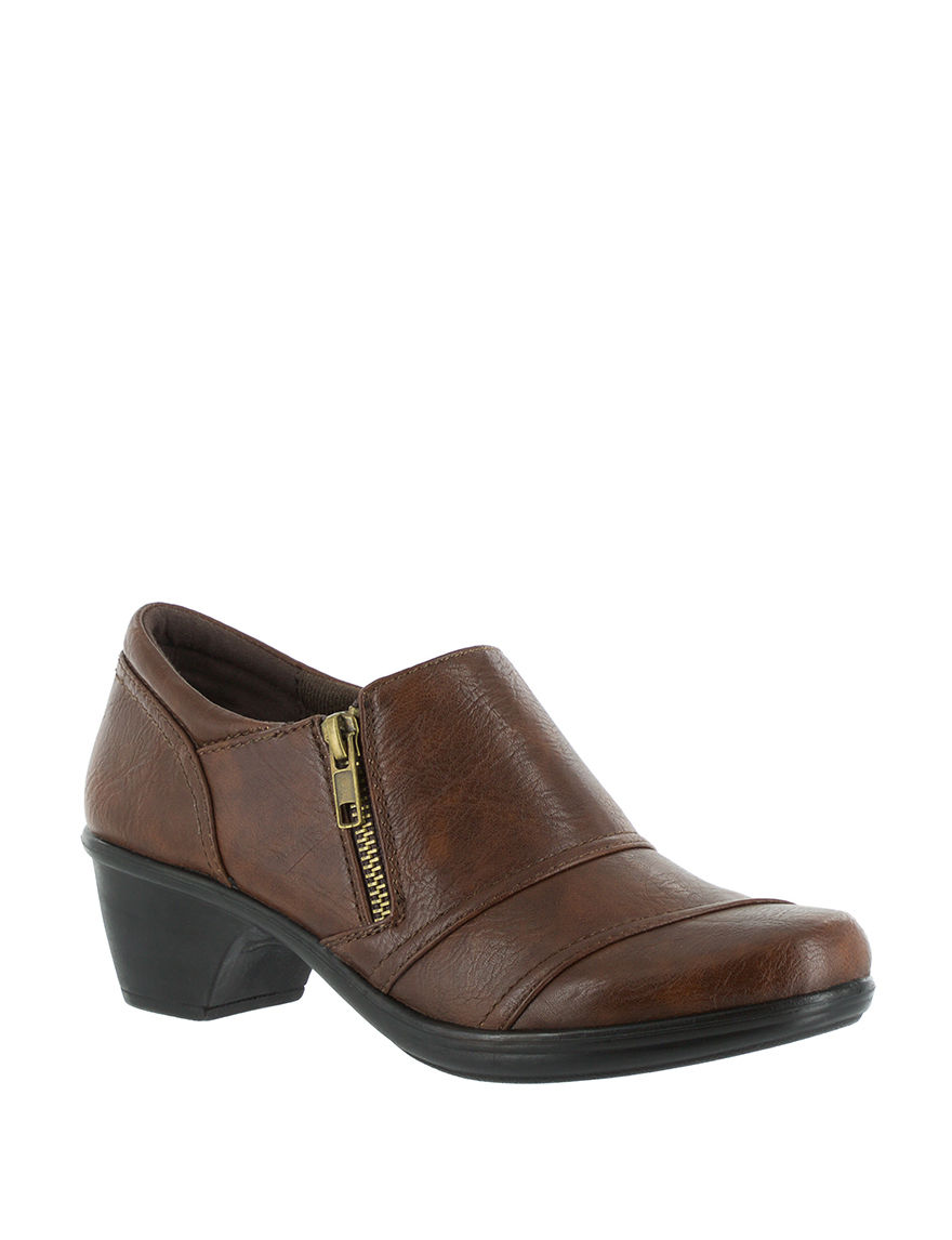 Easy Street Tan Burnish/Gore Ankle Boots & Booties