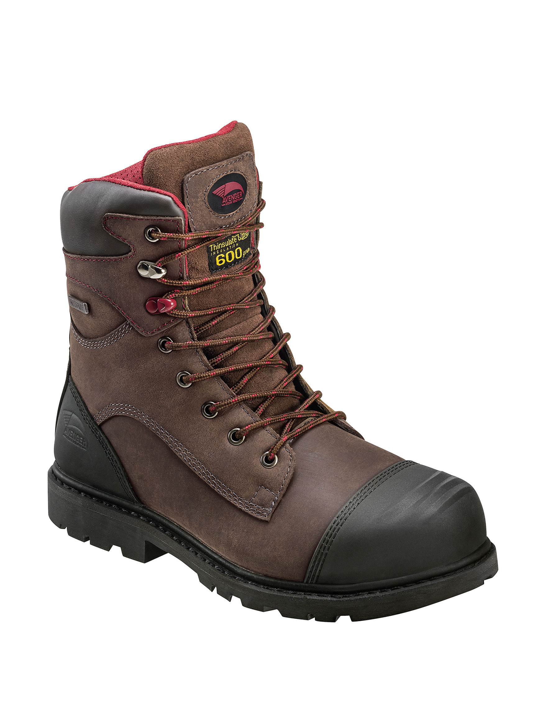 Avenger Brown Composite Toe Slip Resistant Waterproof