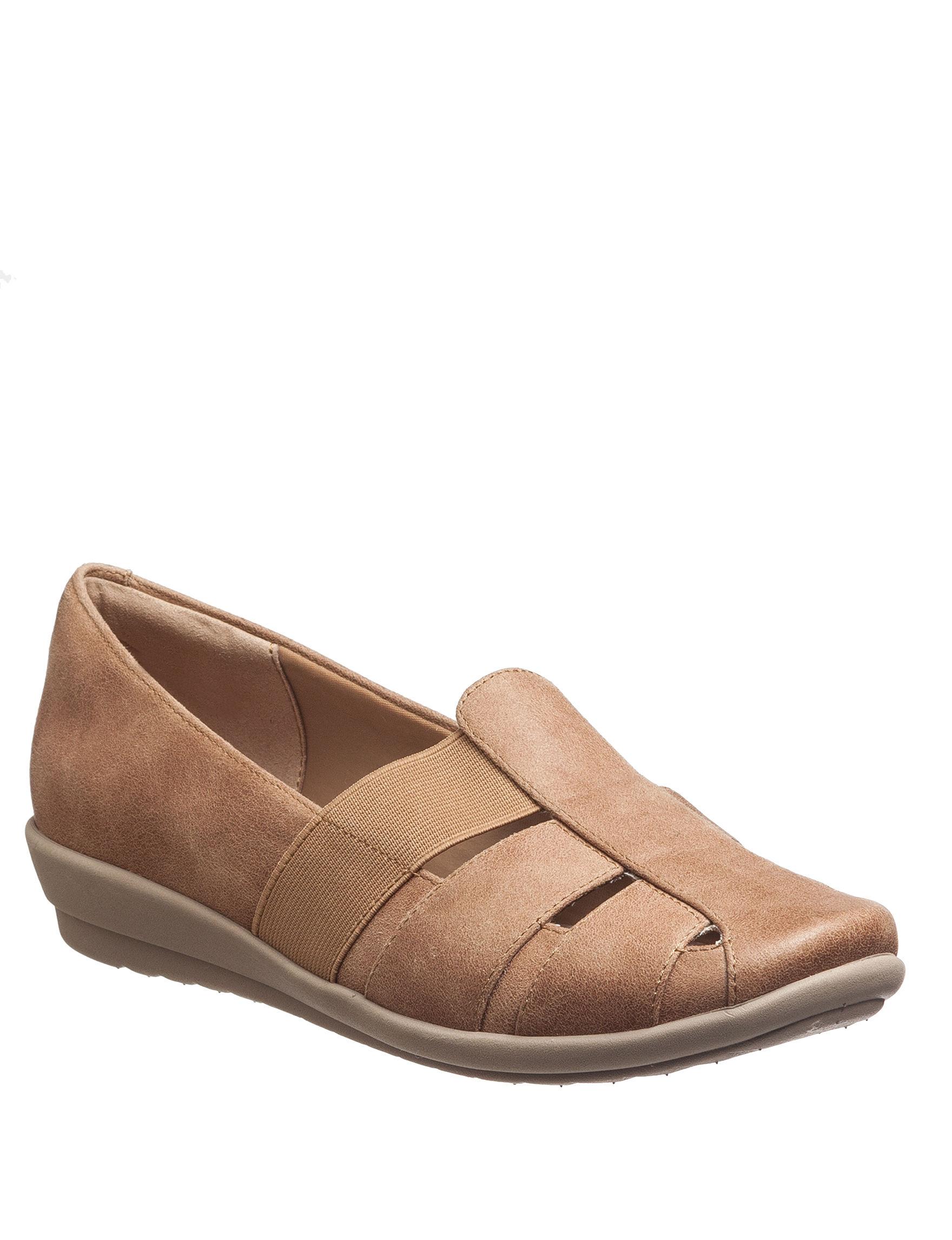 Easy Spirit Taupe Slipper Shoes