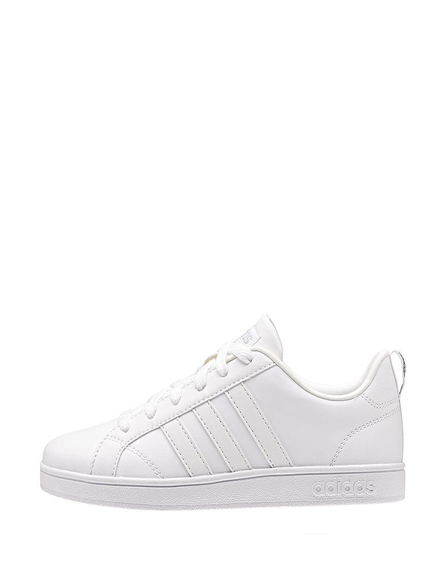 Adidas White Slide Sandals