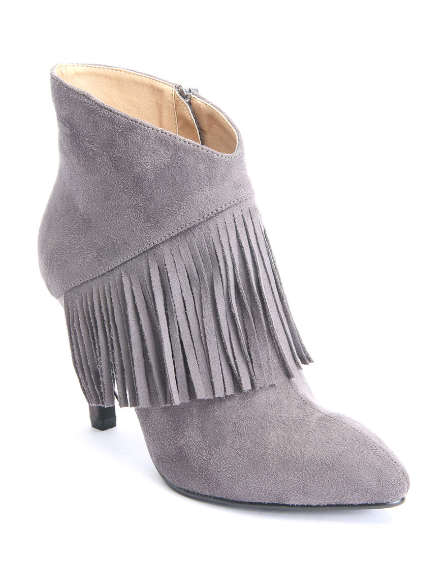 Bellini Grey Ankle Boots & Booties