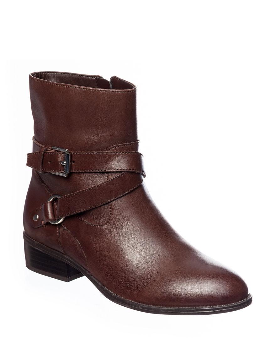 Ralph Lauren Brown Ankle Boots & Booties