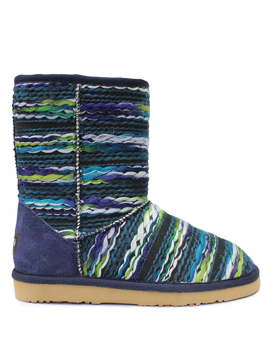 LAMO Footwear Blue / Green Winter Boots