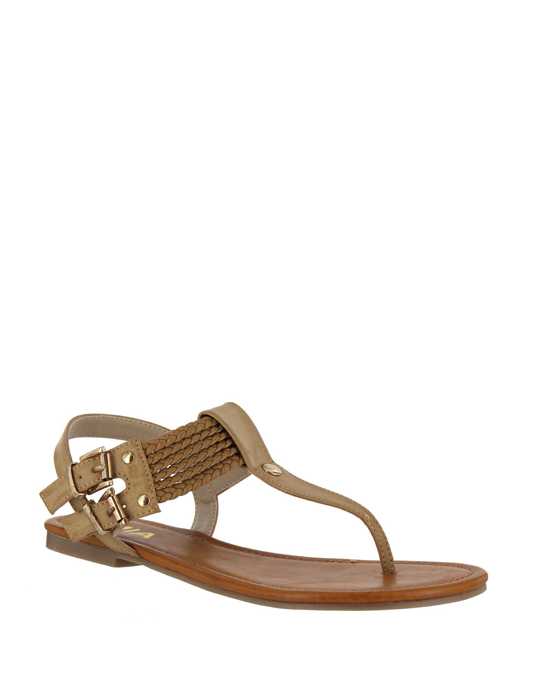 MIA Natural Flat Sandals