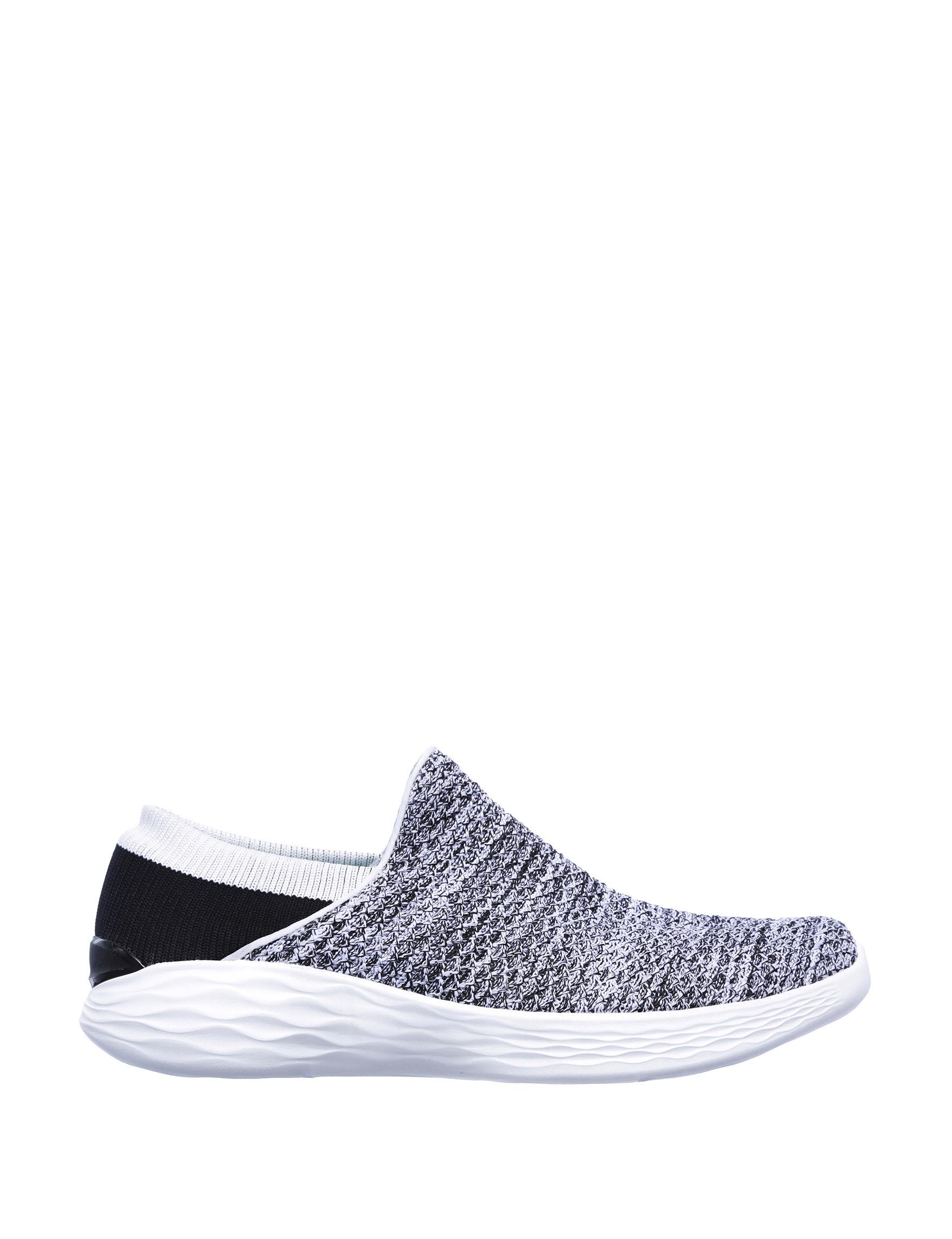 Skechers White / Black