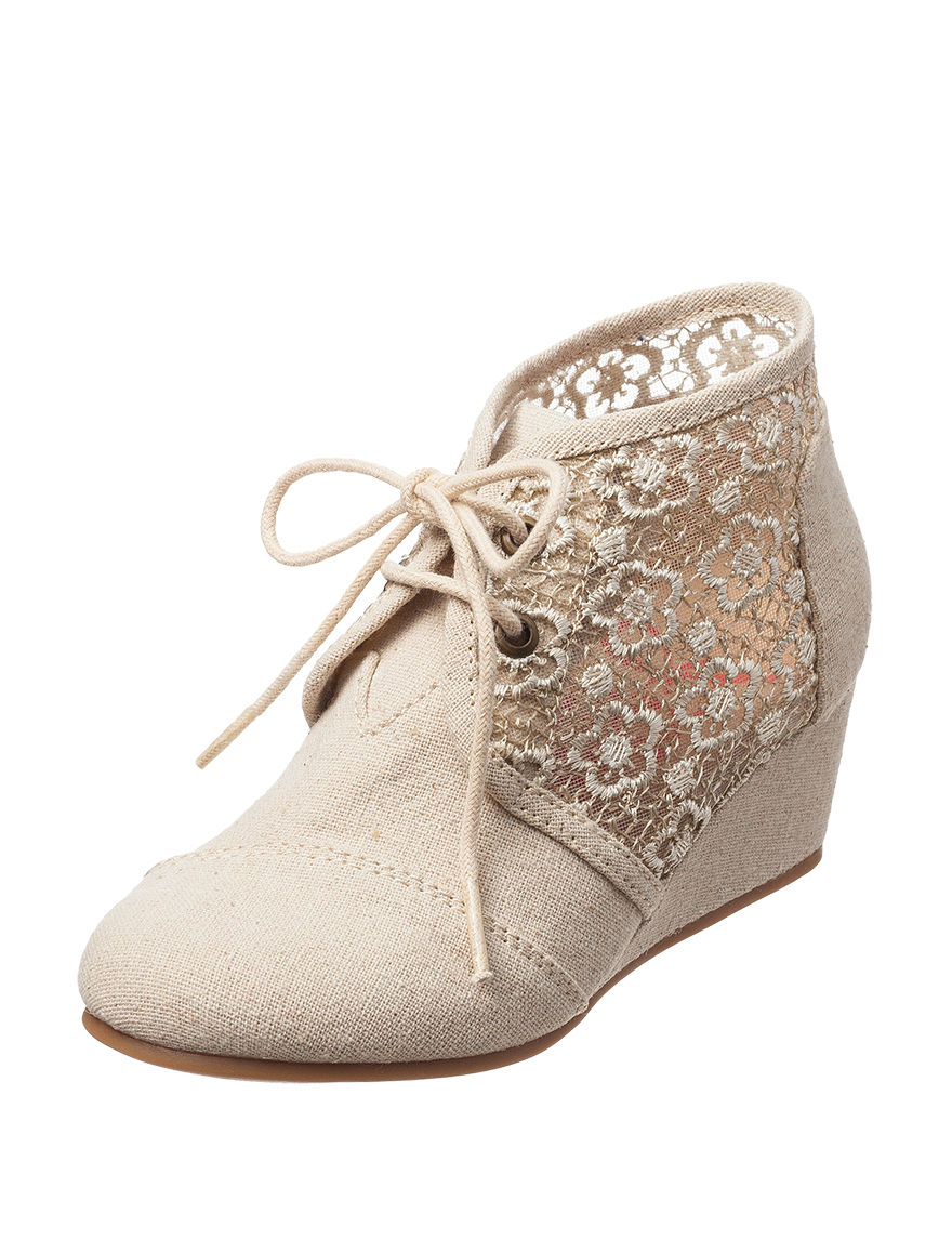 Jellypop Ivory Ankle Boots & Booties