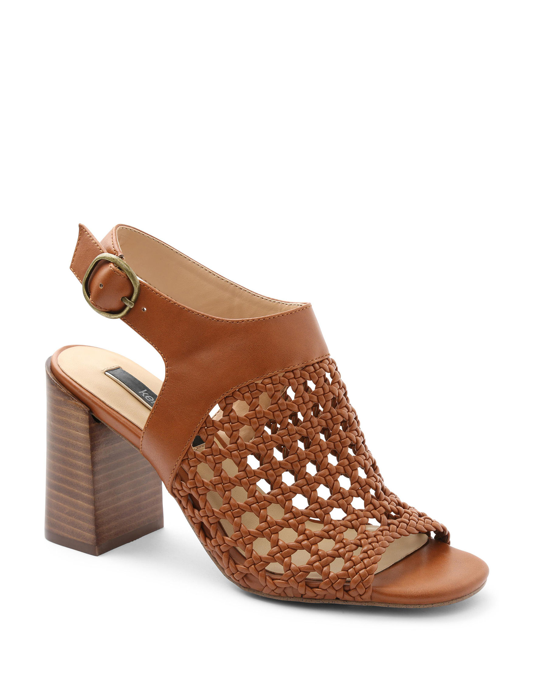 Kensie Tan Heeled Sandals