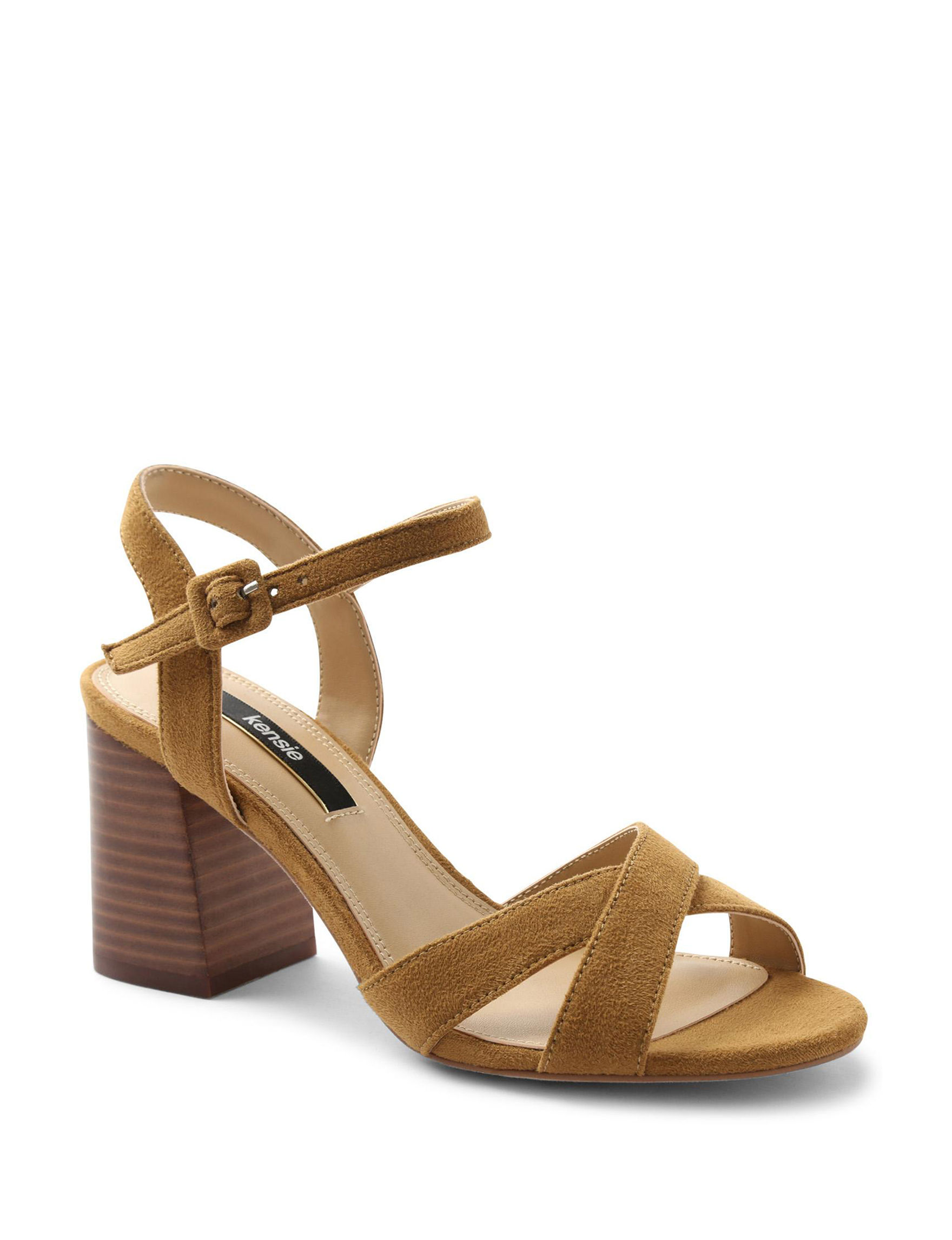 Kensie Tan Heeled Sandals
