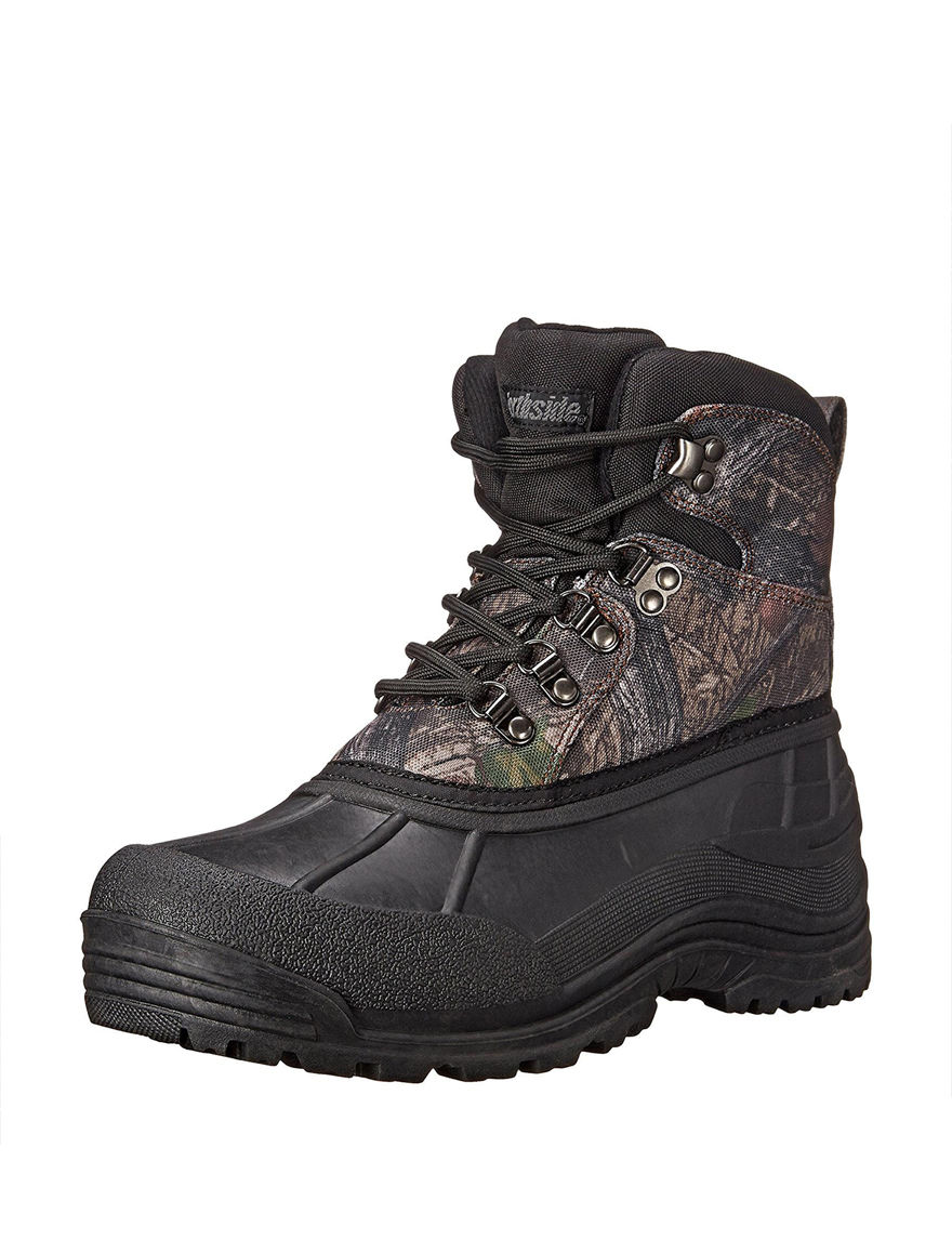 Northside Brown Camo Hiking Boots