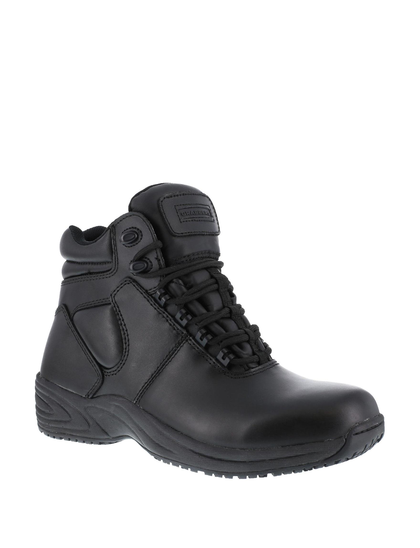 Grabbers Black Slip Resistant