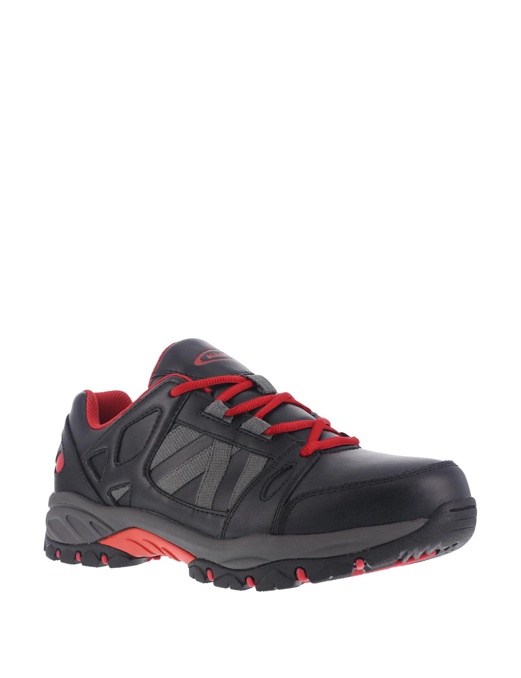 Knapp Black / Red Slip Resistant Steel Toe