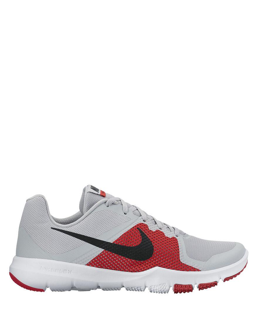 Nike Grey / Red