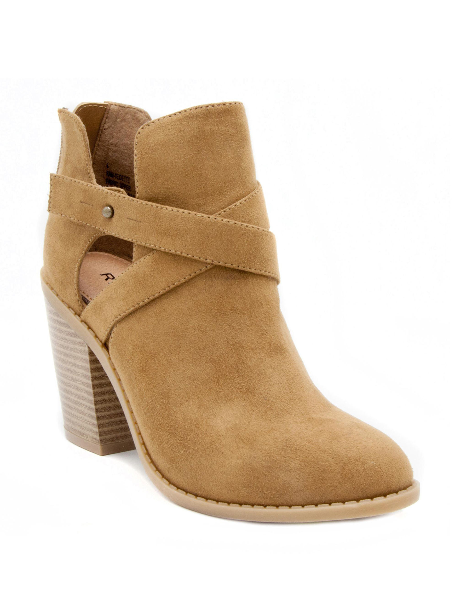 Rampage Camel Ankle Boots & Booties