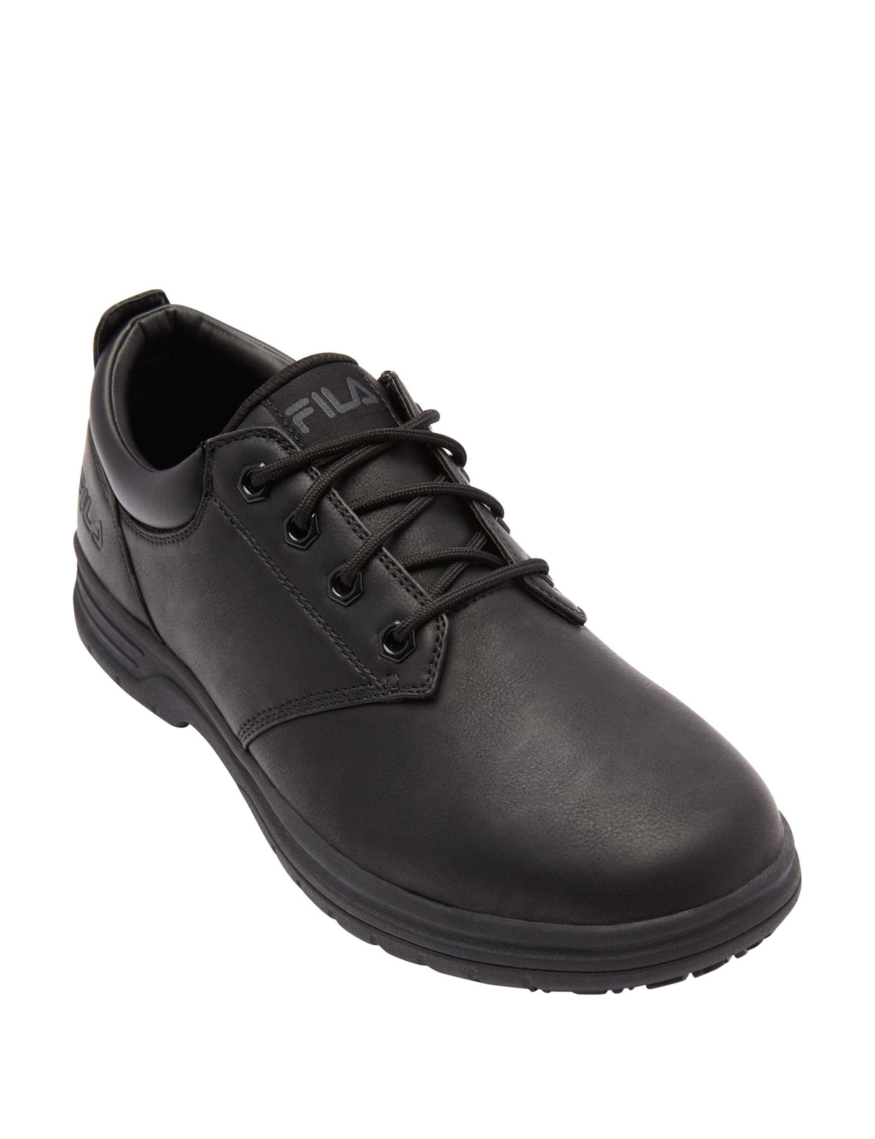 Fila Black Slip Resistant
