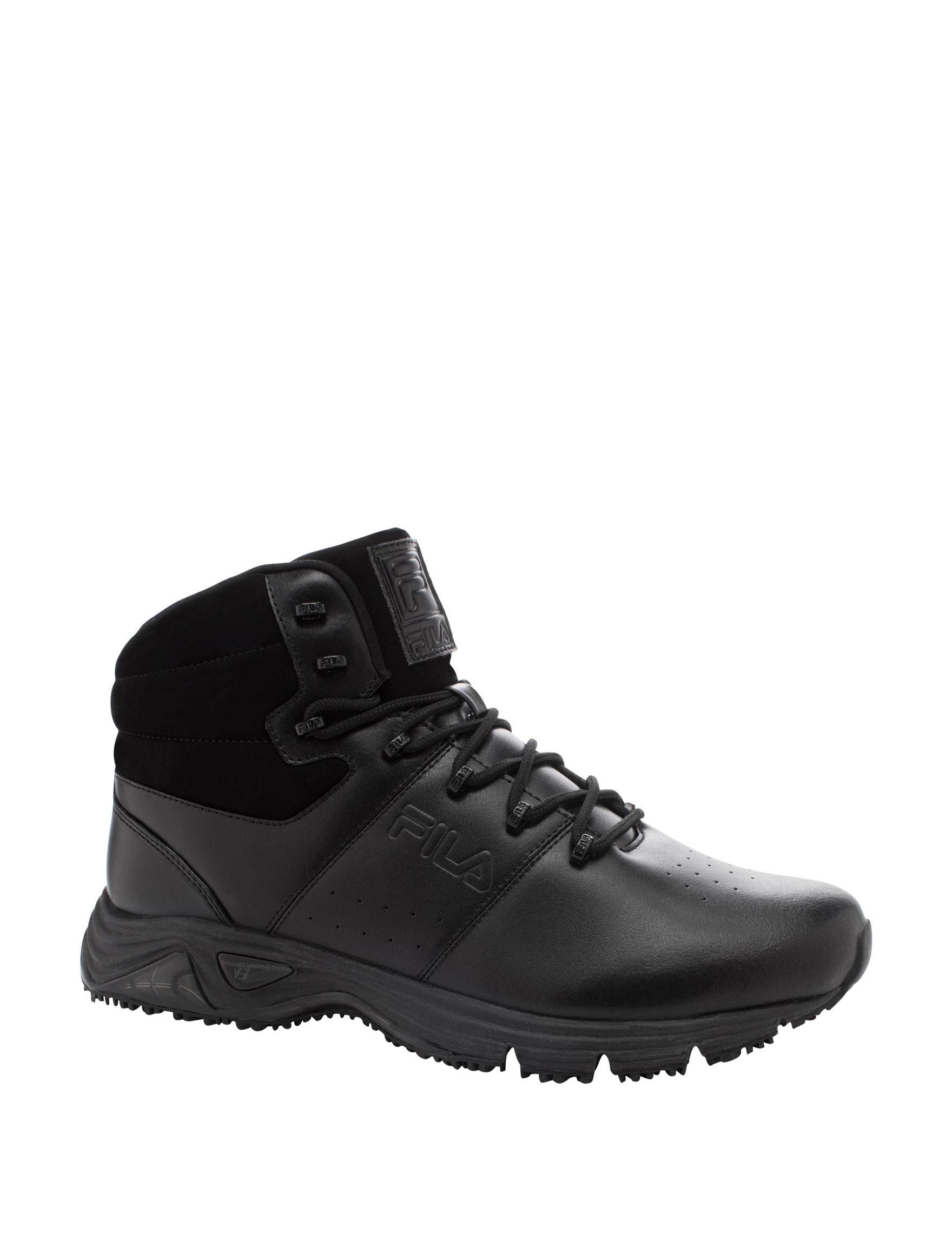 Fila Black Sport Sandals