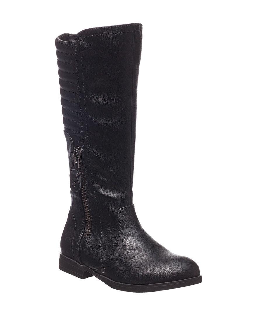 Olivia Miller Black Riding Boots