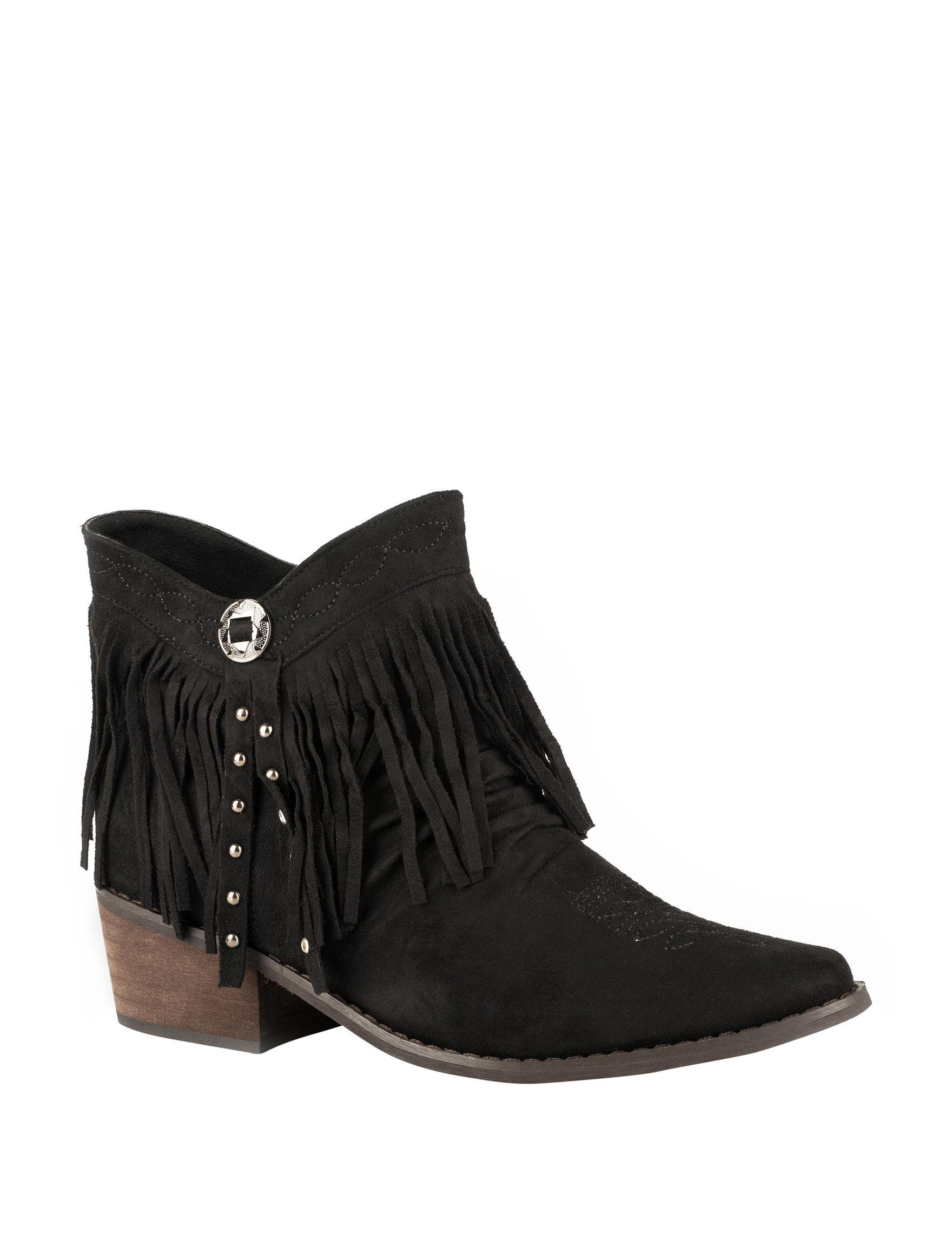 Roper Black Ankle Boots & Booties