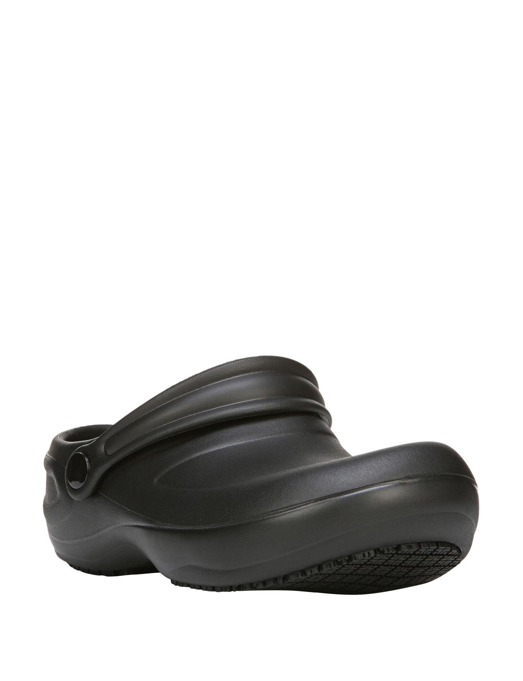Dr. Scholl's Black Comfort Slip Resistant