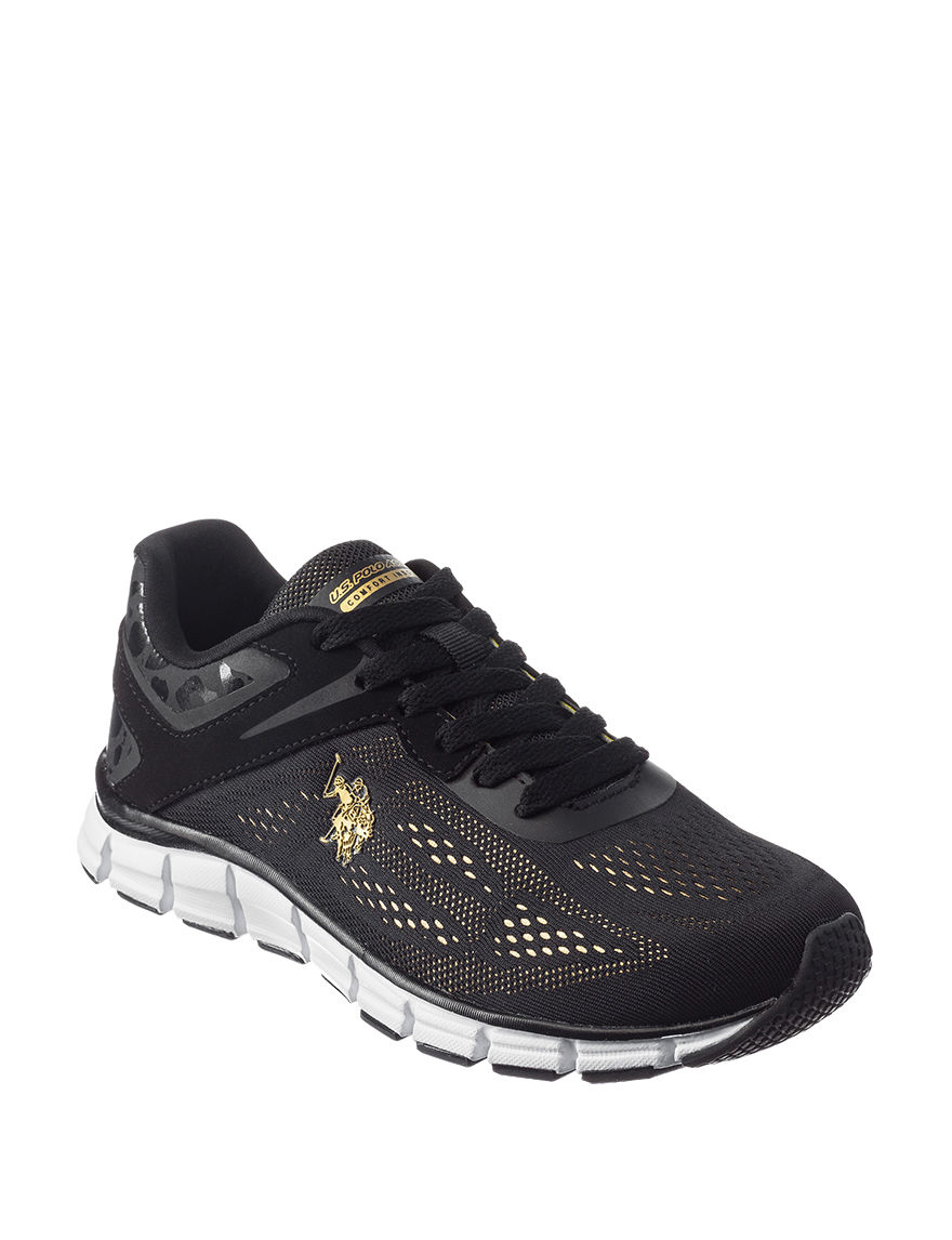 U.S. Polo Assn. Black / Gold