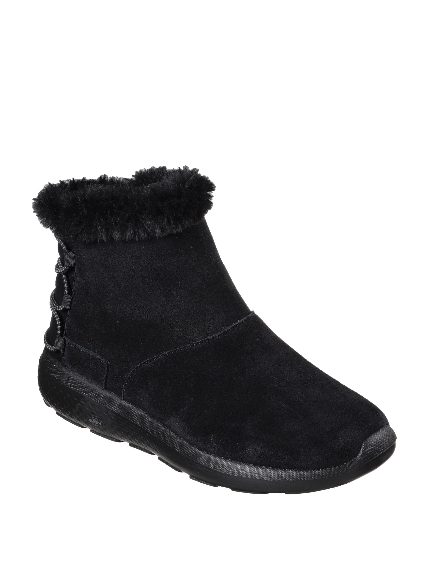Skechers Black Winter Boots