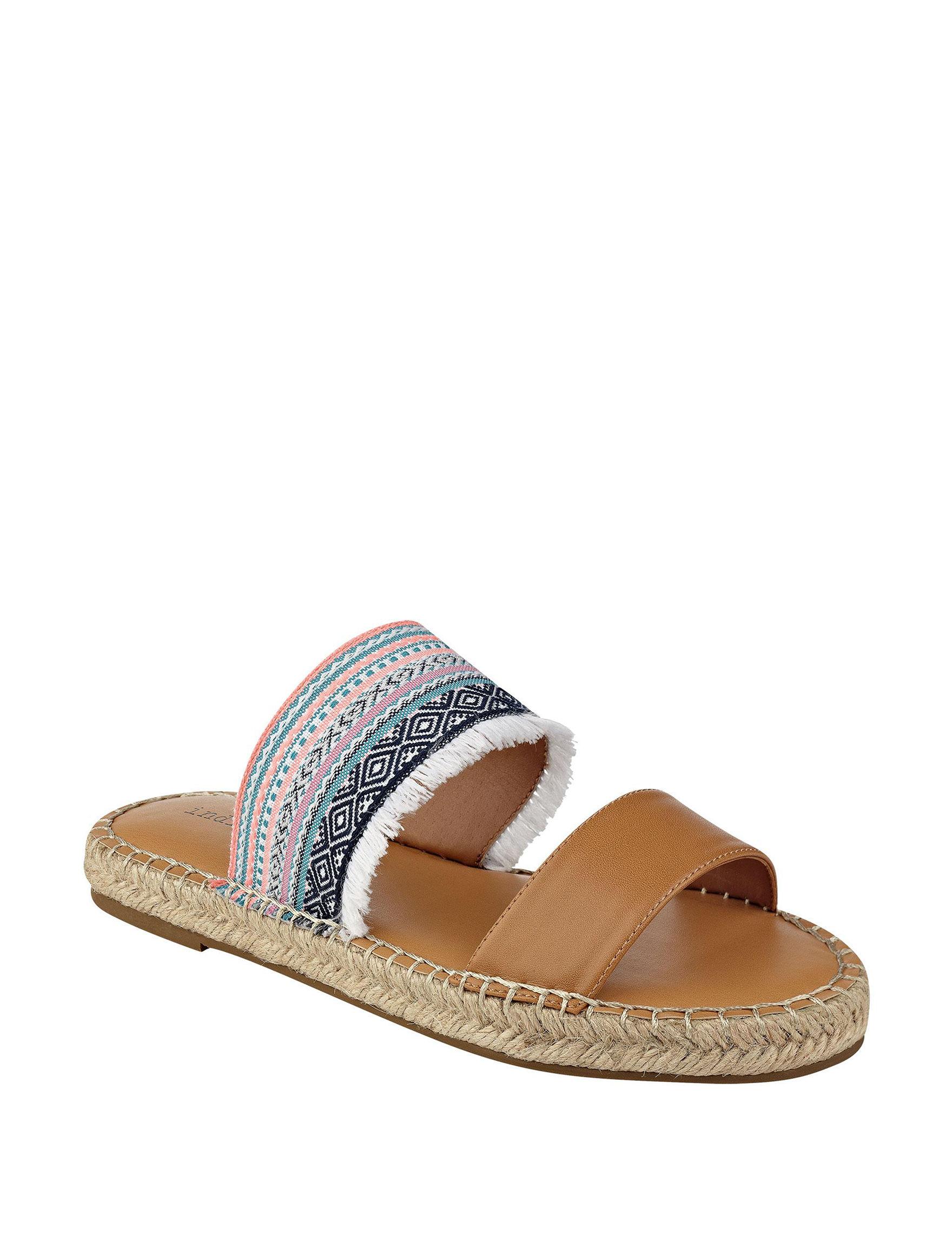 Indigo Rd. Pink Espadrille Flat Sandals