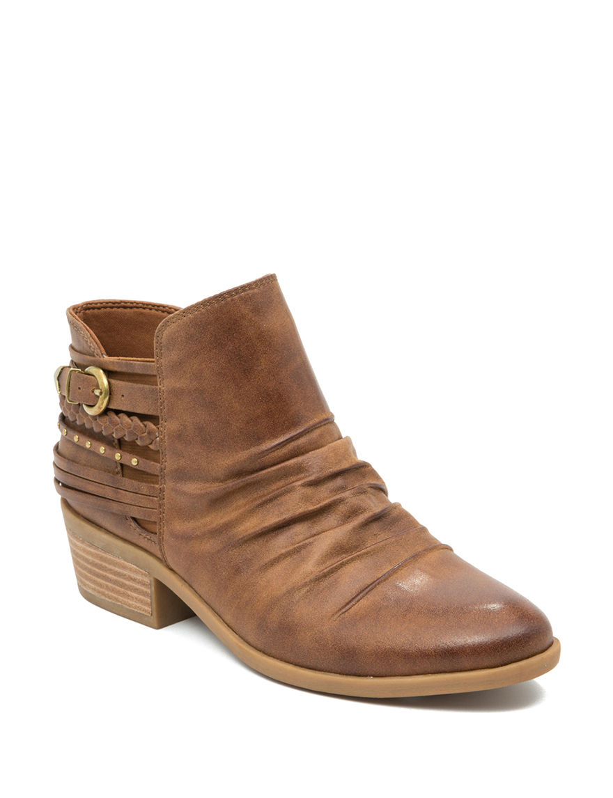 Bare Traps Medium Brown Ankle Boots & Booties