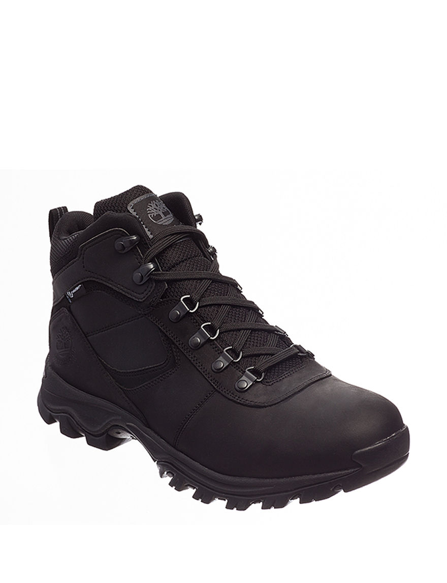 Timberland Black Hiking Boots Winter Boots