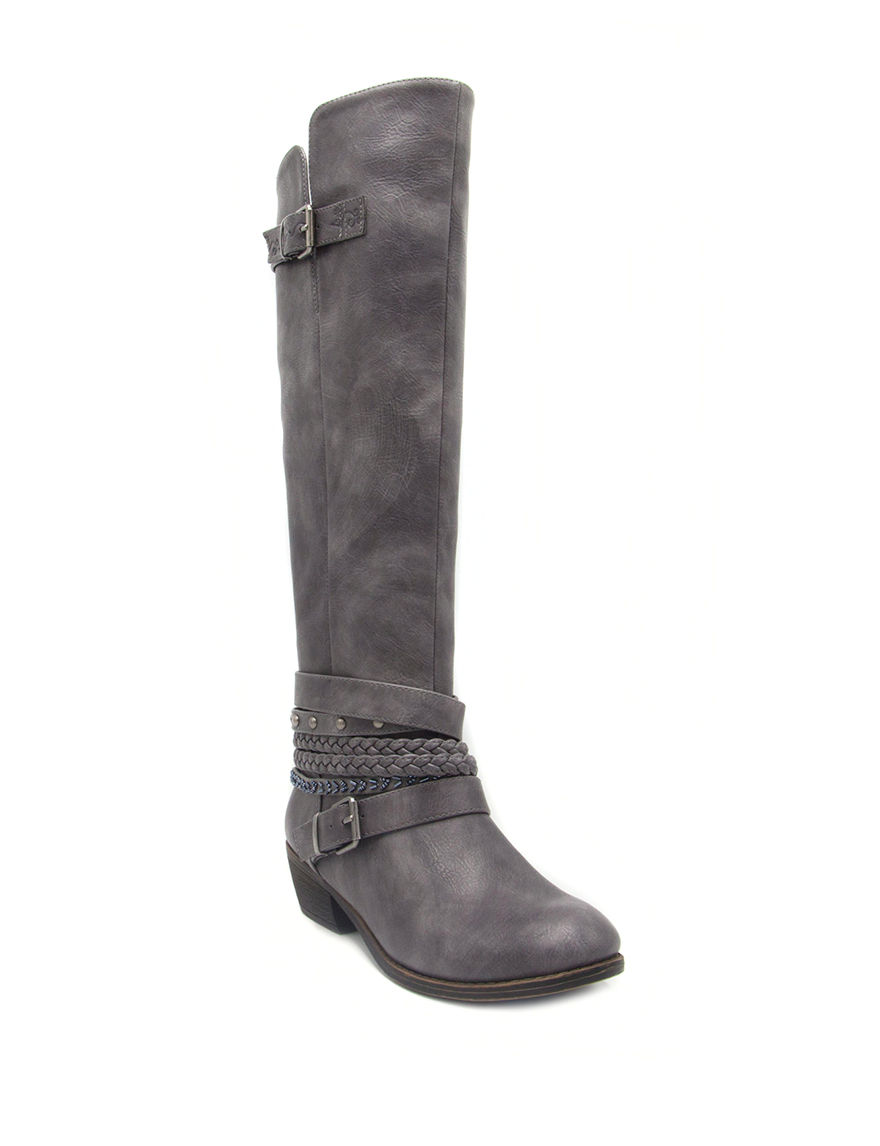 Rampage Black Riding Boots