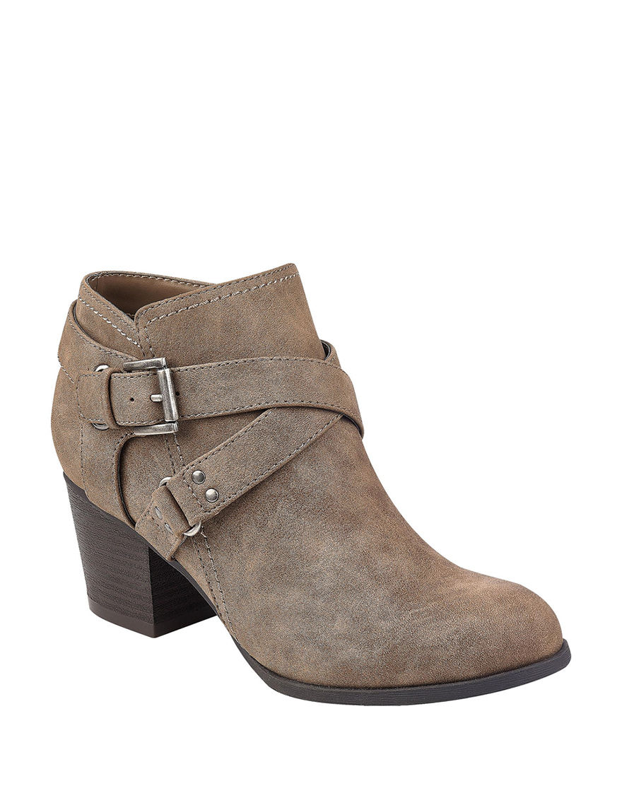 Indigo Rd. Brown Ankle Boots & Booties