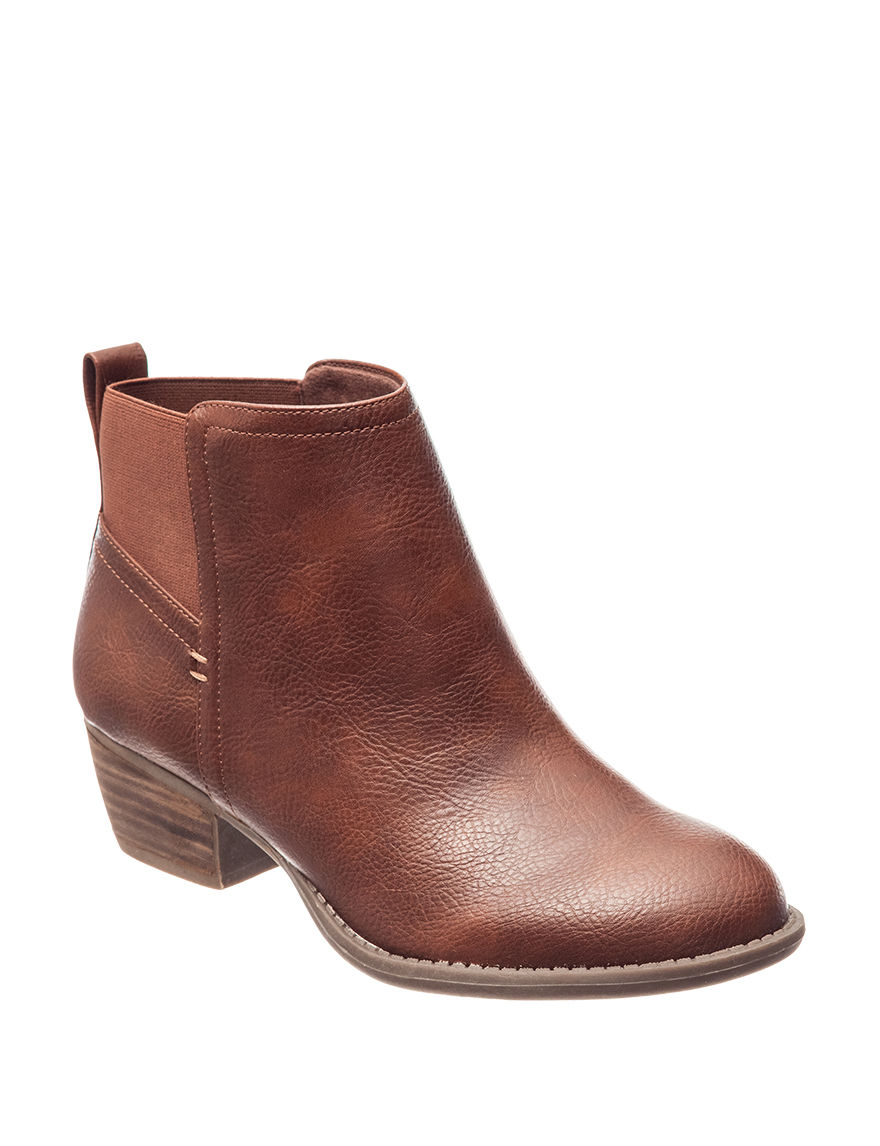 Dr. Scholl's Brown Ankle Boots & Booties
