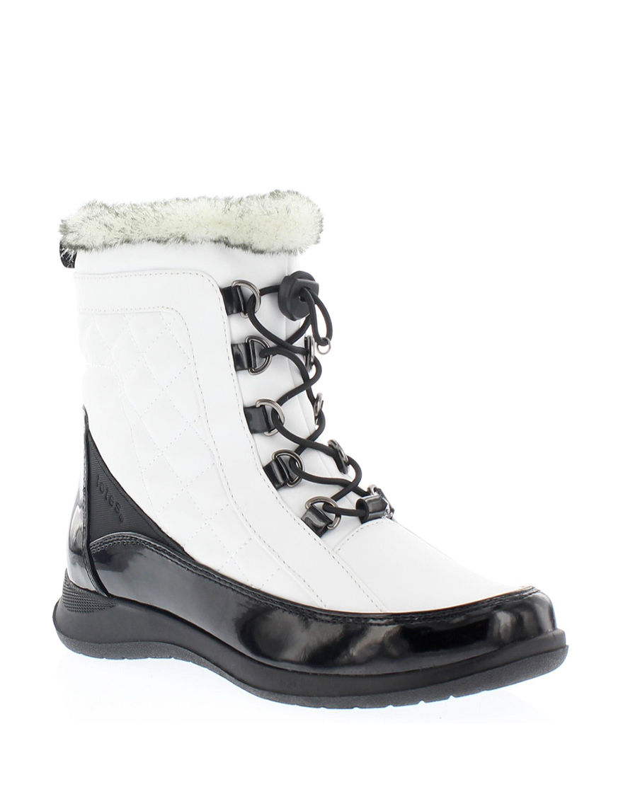 Totes White Winter Boots