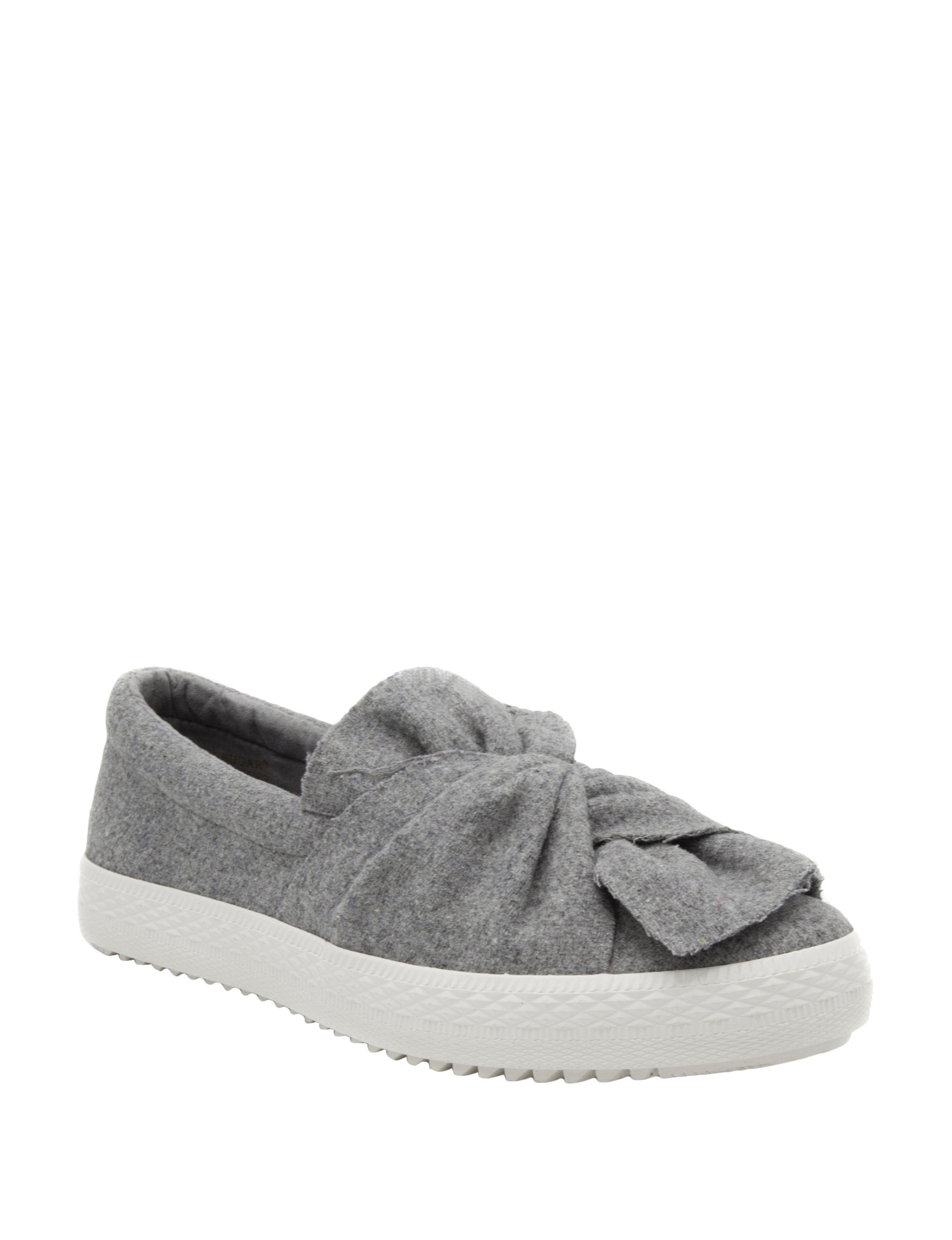 Sugar Grey Slipper Shoes