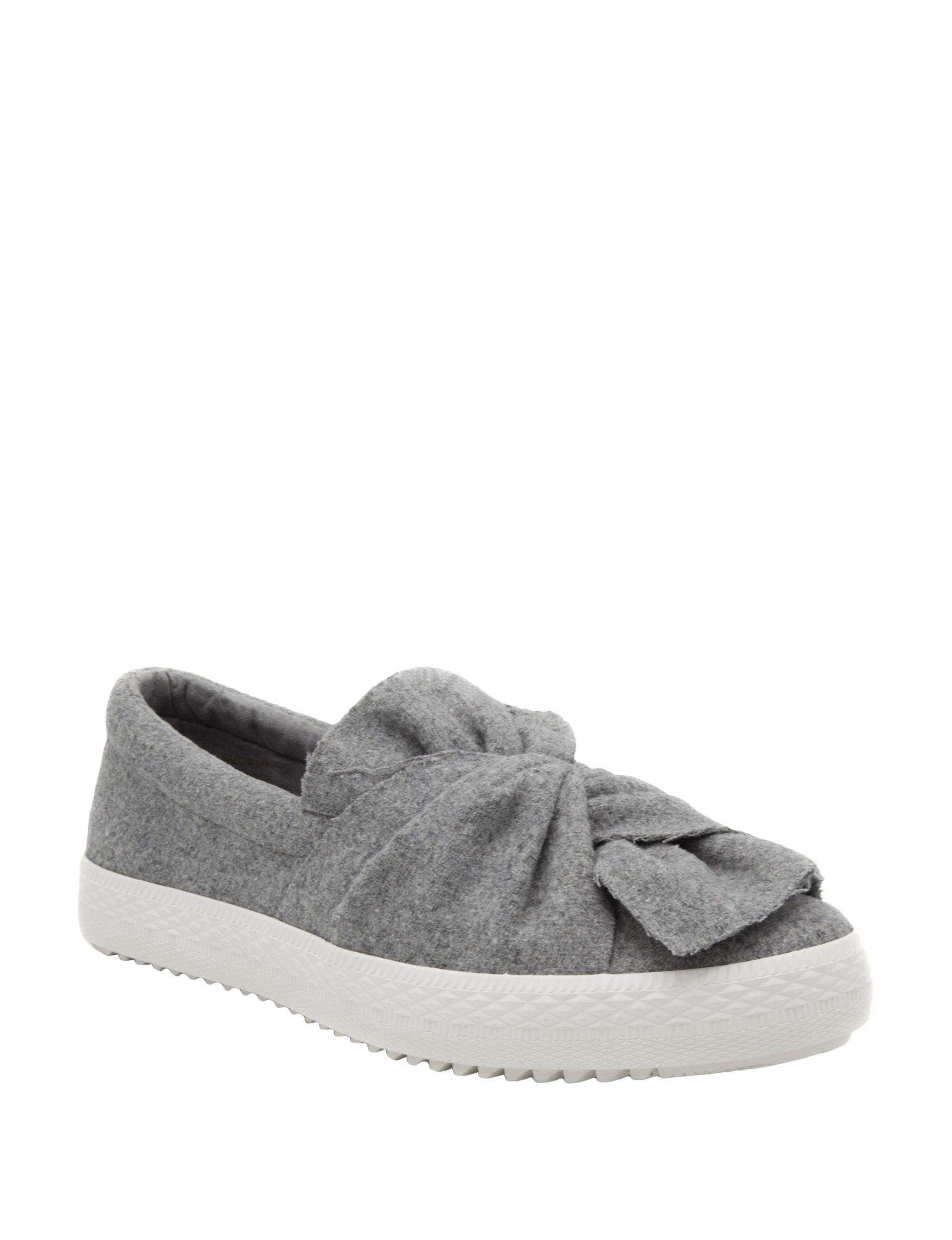 Sugar Grey Slipper Shoes