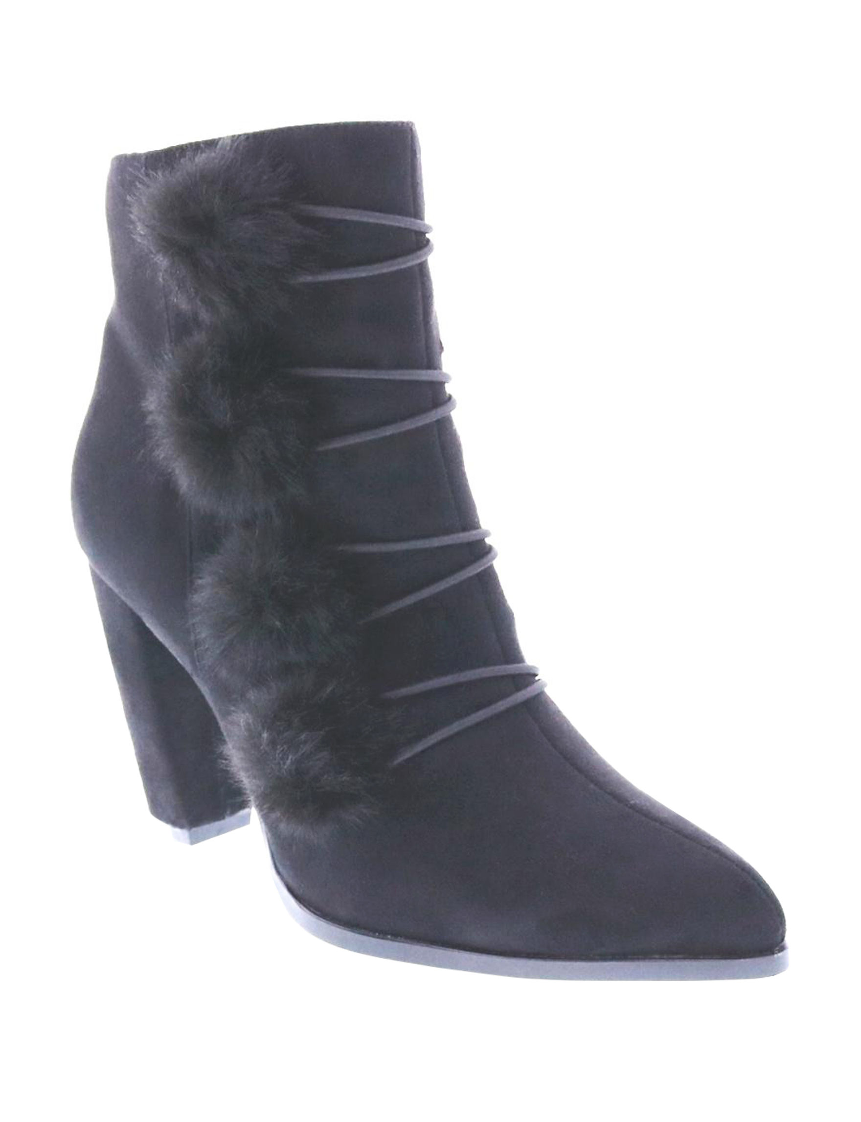 Penny Loves Kenny Black Ankle Boots & Booties