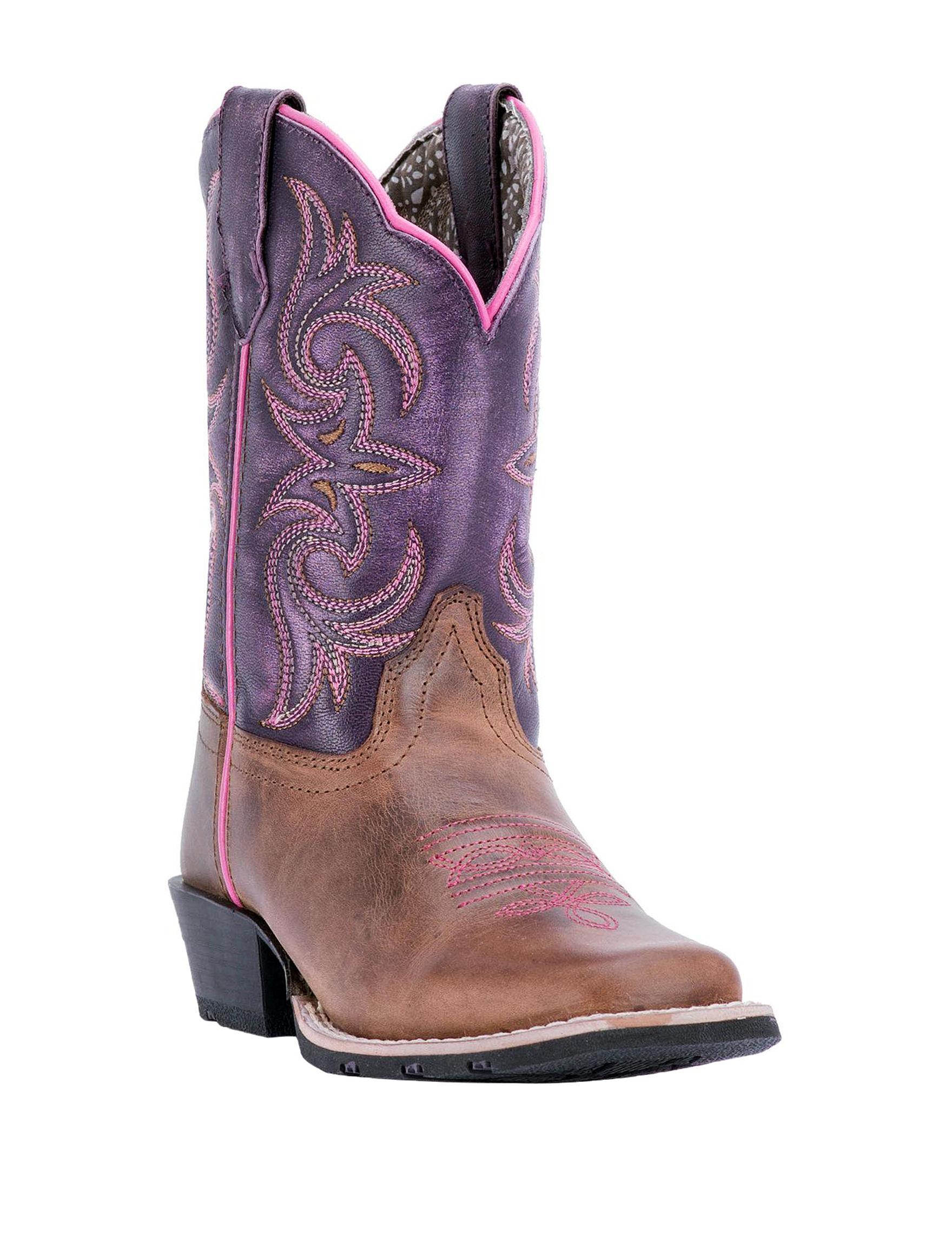 Dan Post Purple Western & Cowboy Boots
