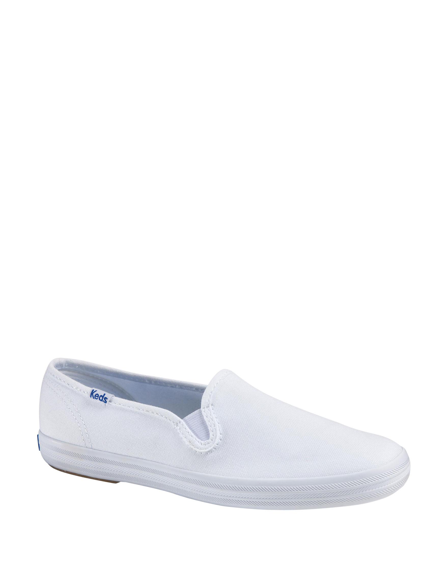 Keds White Comfort