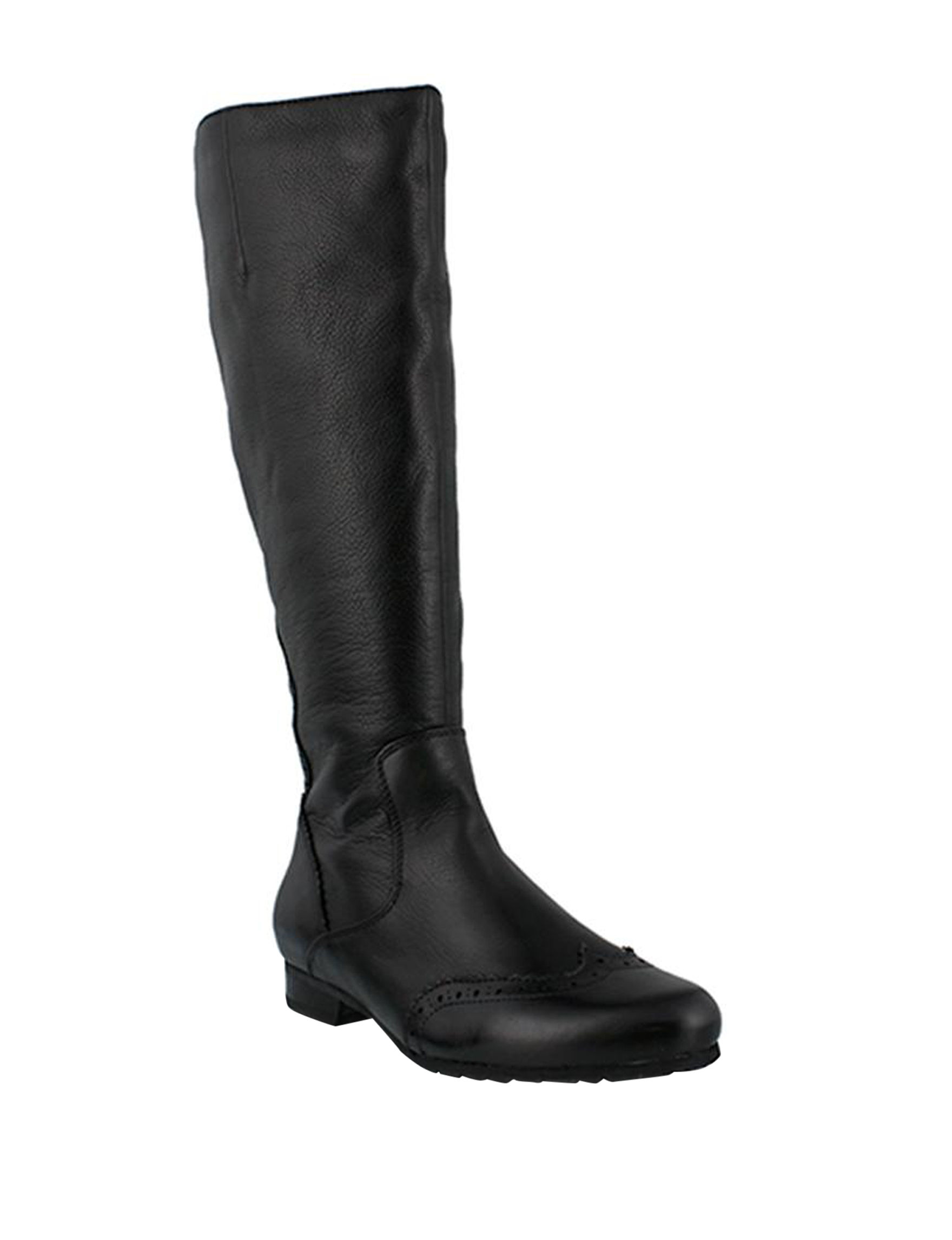 Spring Step Black Riding Boots
