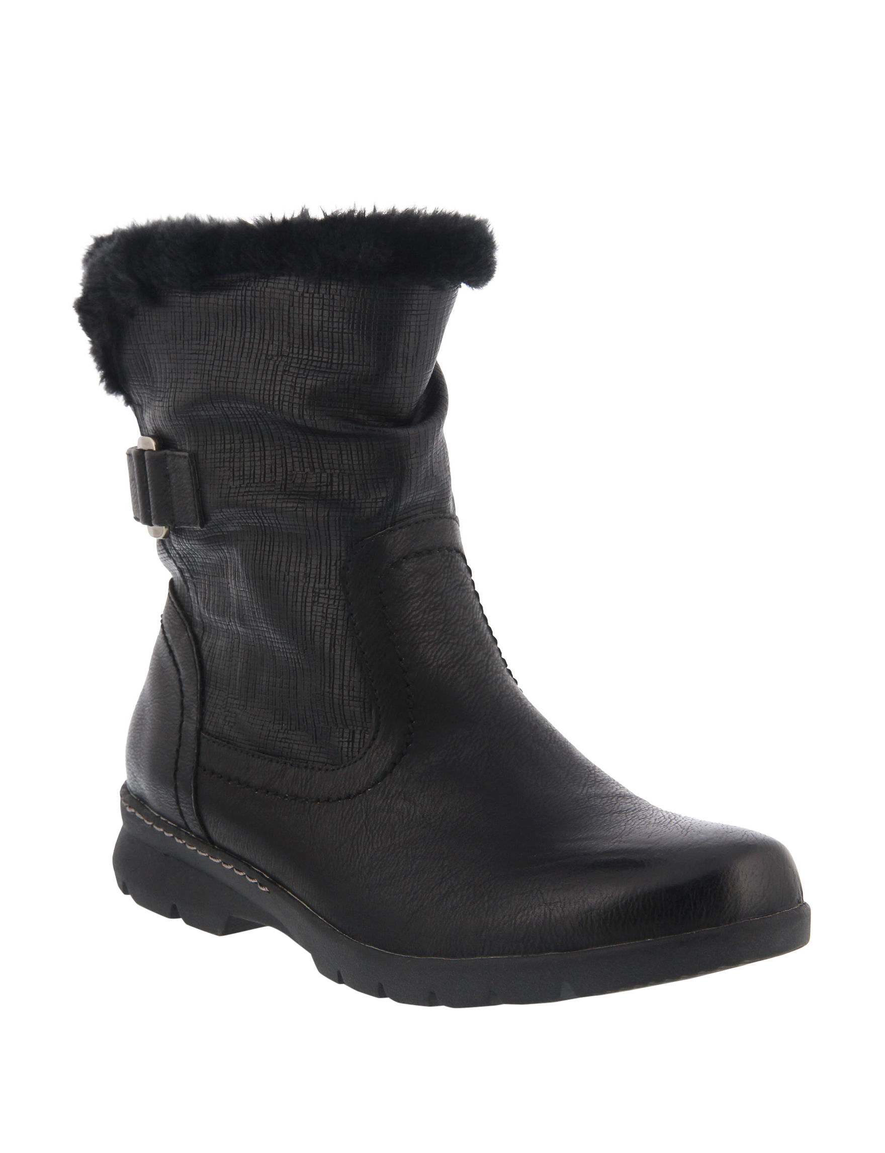 Spring Step Black Winter Boots