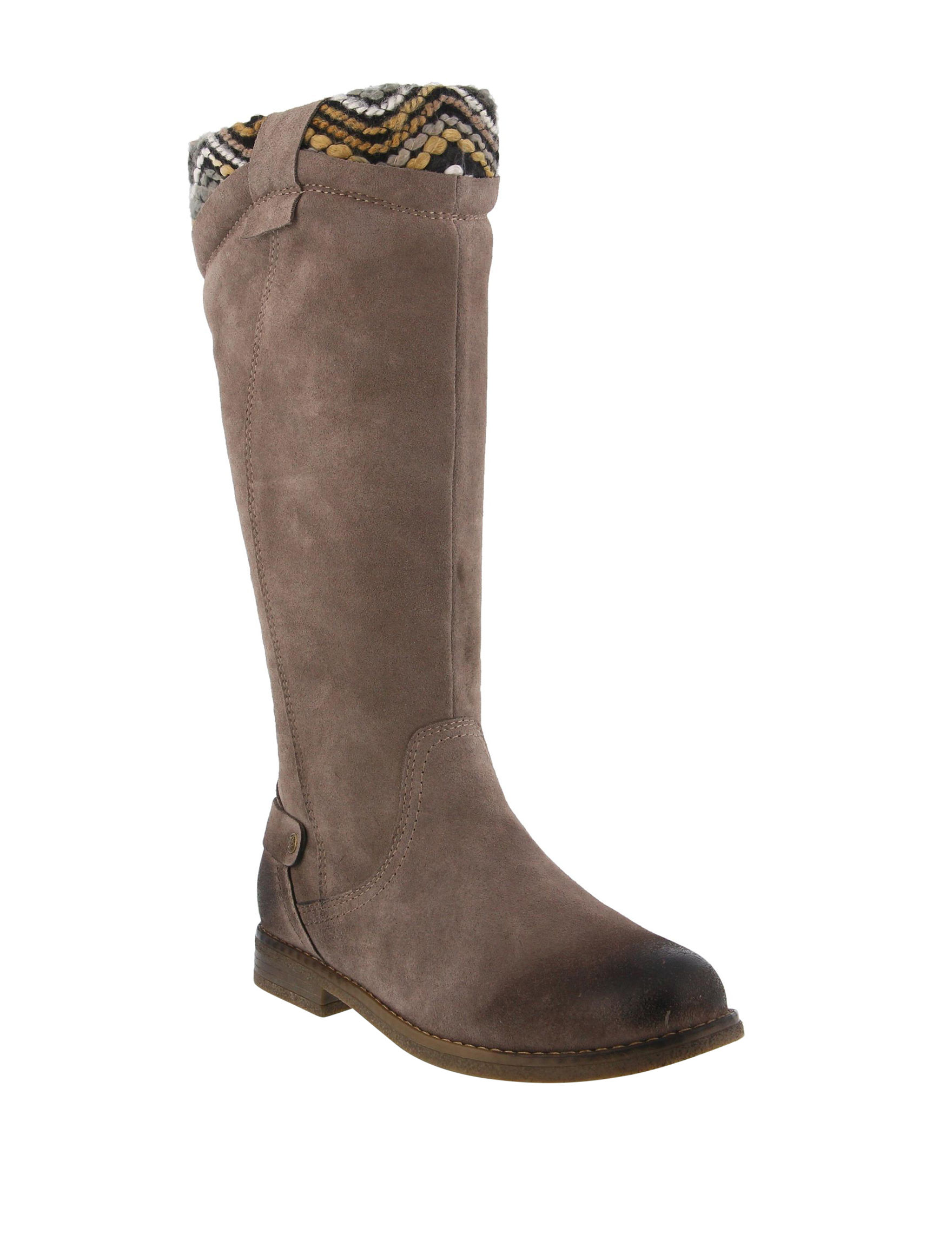 Spring Step Taupe Riding Boots