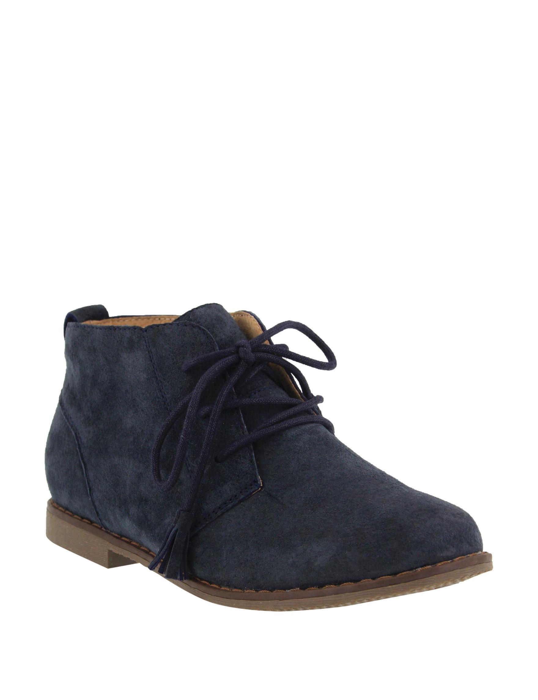 Spring Step Navy Chukka Boots
