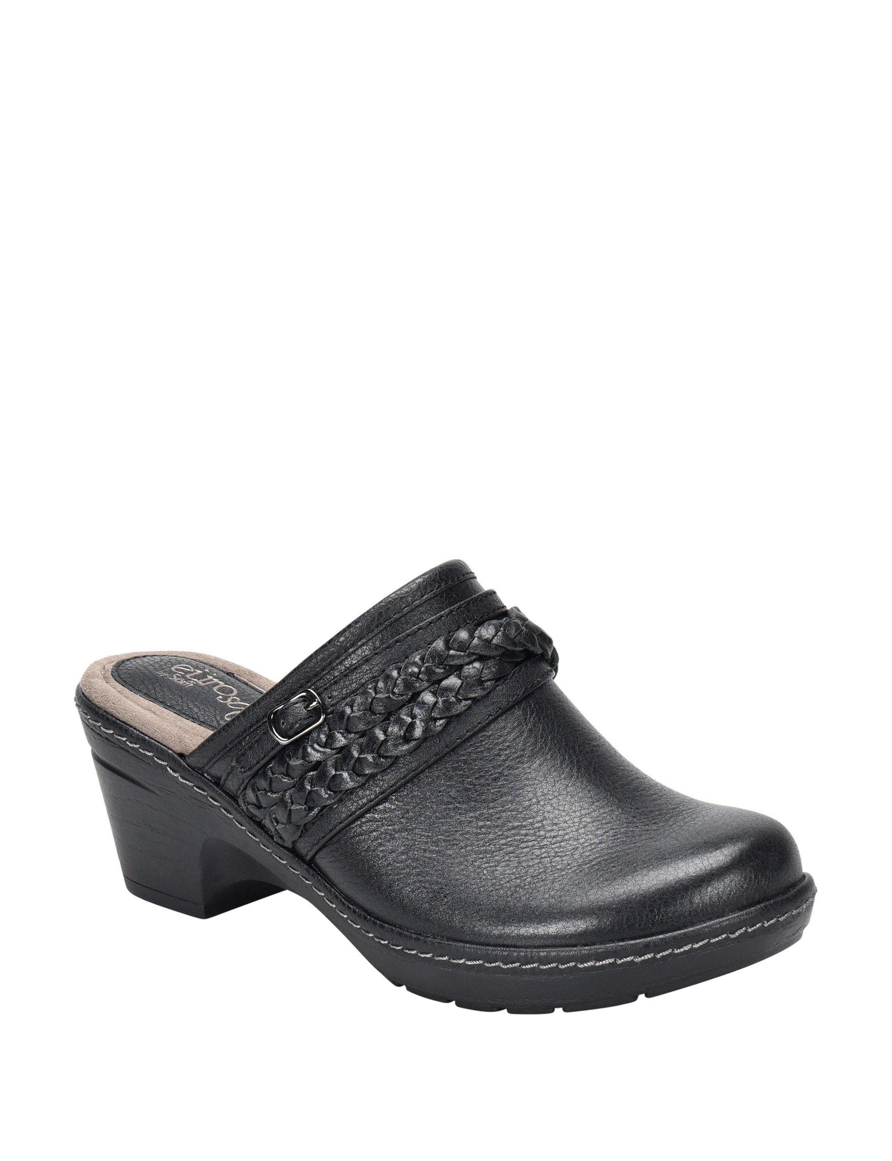 Eurosoft Black Clogs
