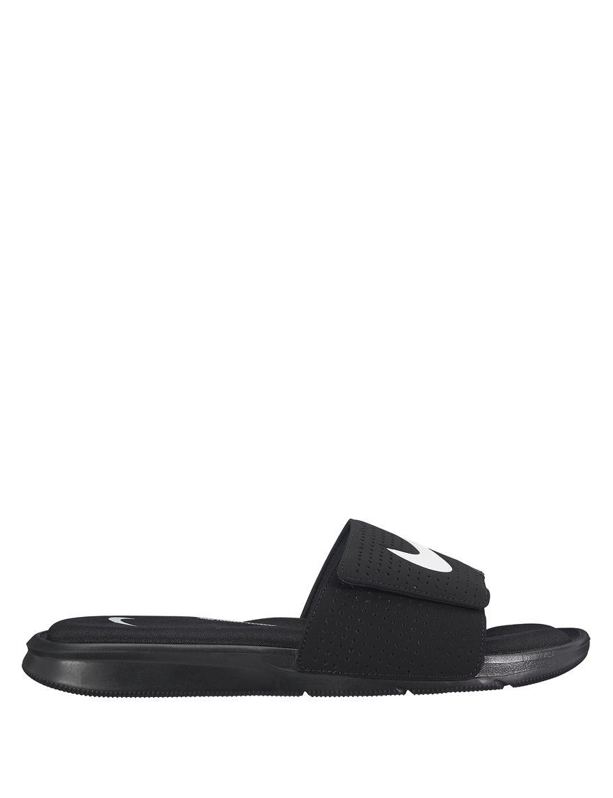 Nike Black /  White Slide Sandals Sport Sandals